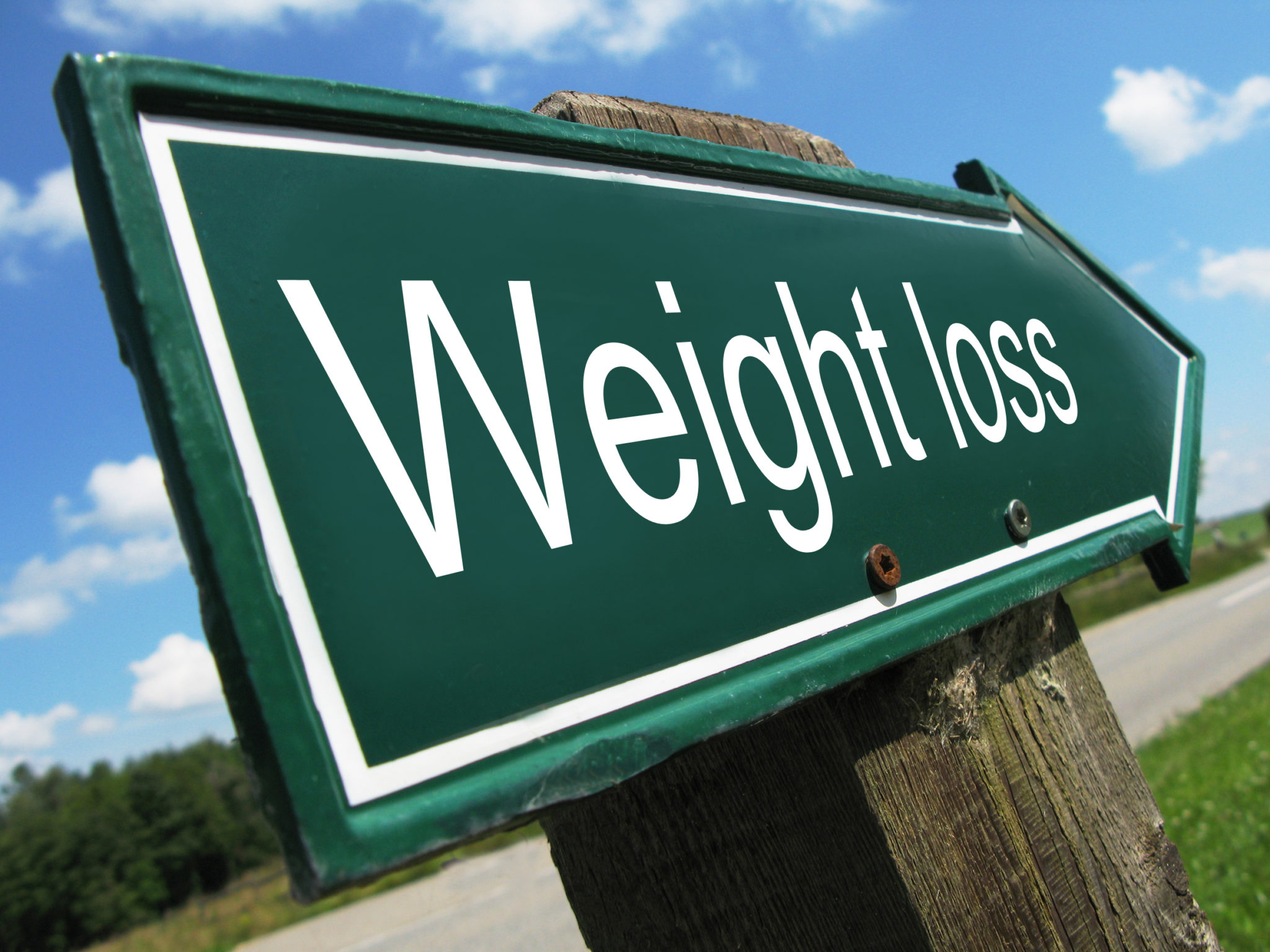 Weightloss Sign
