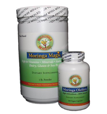 moringa magic bundle power and capsules
